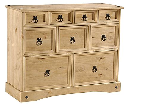 Pine Bedroom Chest Of Drawers by Bedroom Pine Bedsides And Chest Of Drawers Homegenies
