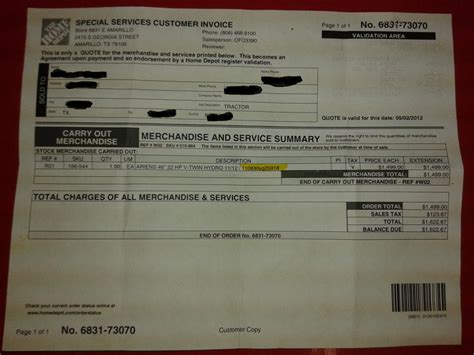 ripoff report the home depot complaint review amarillo