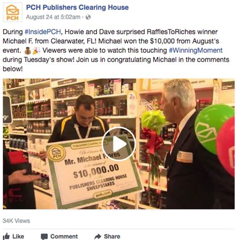 Publishers Clearing House Toll Free Number - winnerwednesday these lucky guys are pch winners pch blog