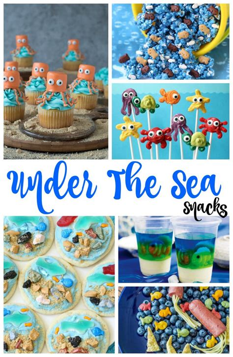 love boat theme party food under the sea snacks perfect ocean theme party ideas