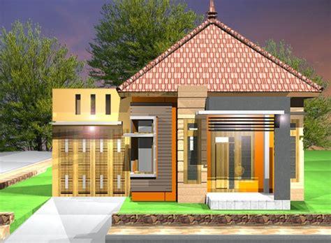 contoh gambar rumah sederhana  inspirasi
