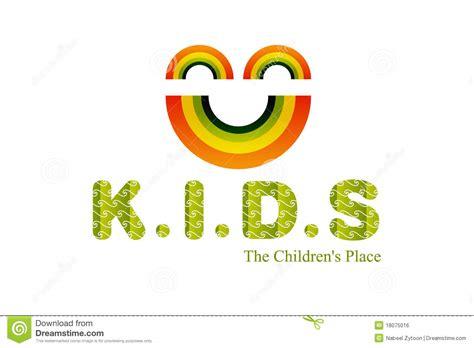 kids logo design stock illustration image of childhood kids logo design royalty free stock image image 18075016