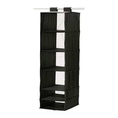 ikea hanging organizer ikea skubb hanging clothes closet storage organizer rack black b001qmmk18 14 50