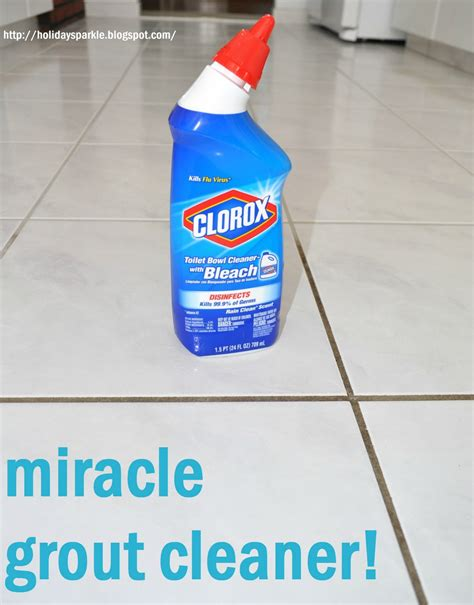 how to clean bathroom floor with bleach holiday sparkle finally clean your grout