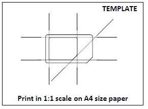 sim card adapter template printable n9 unboxing stochastic geometry