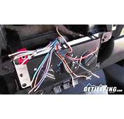 How To Install Stereo Wire Harness In A 1997 2001 Jeep