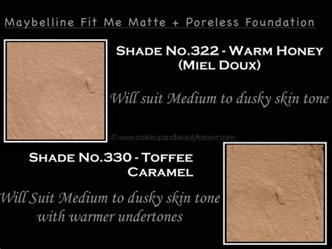 Maybelline Fit Me Foundation Warm maybelline fit me matte poreless foundation review shades swatches