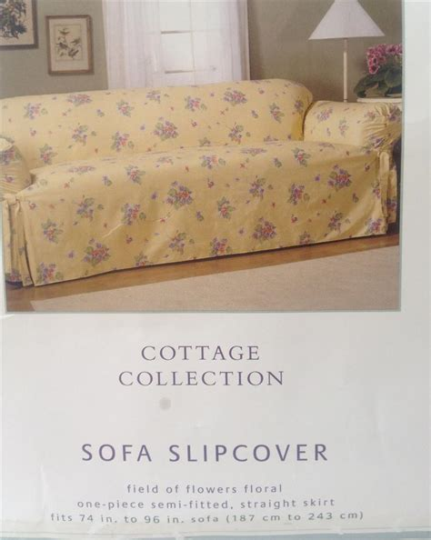 country cottage slipcovers shabby country cottage yellow chic floral chic sofa couch