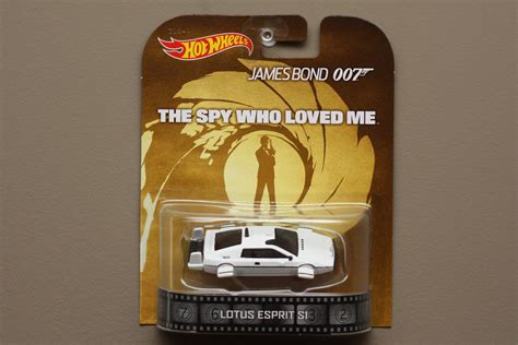 Hotwheels Lotus Jamesbond wheels 2014 retro entertainment lotus esprit s1