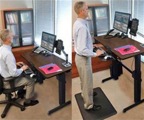 diy sit stand desk plans diy adjustable sit stand desk pdf plan download free