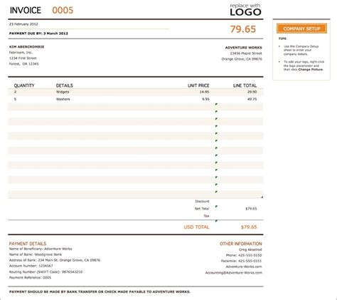 limited company invoice template free invoice template best templates for excel pdf word