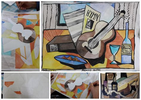 picasso guitar painting picasso practical pages