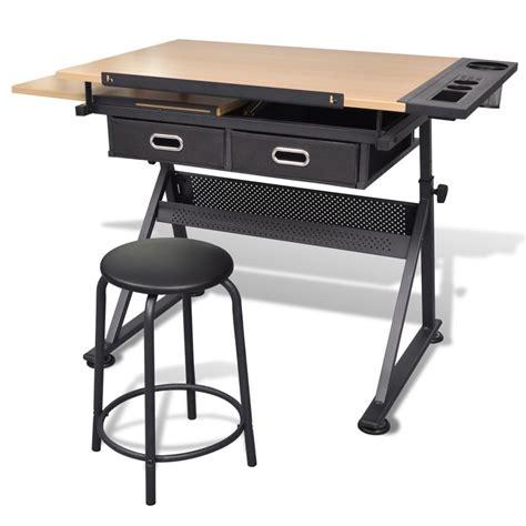 La Boutique En Ligne Table 224 Dessin Inclinable Avec Table A Dessin Industriel Occasion L