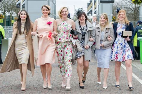 Longdress Melony day frocks and shocks at the 2016 grand national