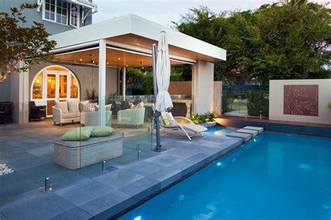 alfresco outdoor area steel patio living