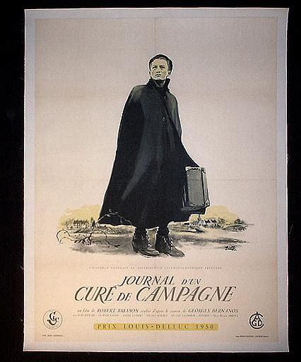 journal dun cur de robert bresson com the film posters journal d un cur 233 de cagne