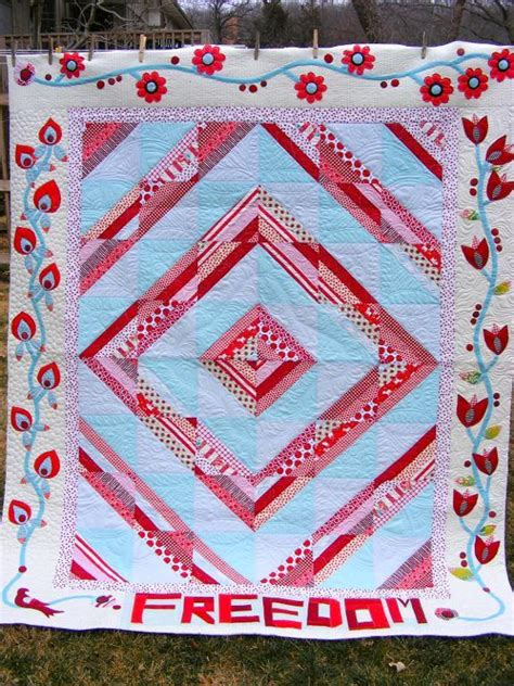 Freedom Quilts Patterns by You To See Glorious Freedom Quilt On Craftsy