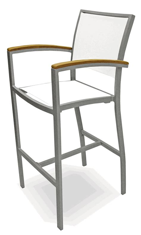 outdoor commercial bar stools florida seating commercial aluminum batline weave outdoor