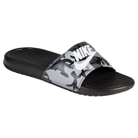 nike mens slippers nike slippers mens nike benassi jdi slide black grey