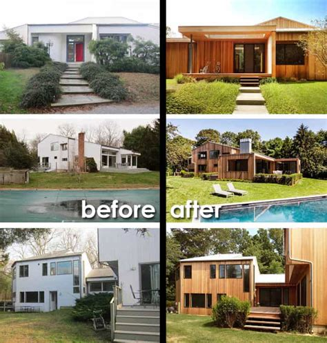 transformation house amazing transformations for hedge row lane house ny