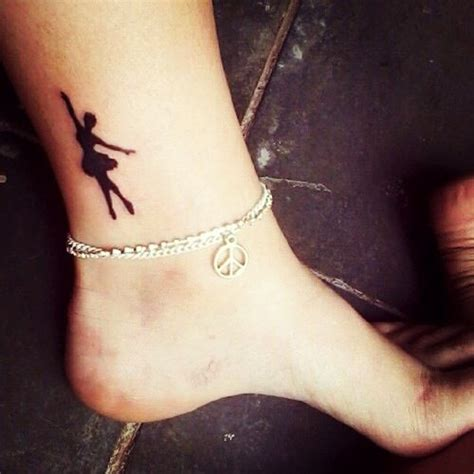 dancer tattoo ballerina want but with my studio logo it