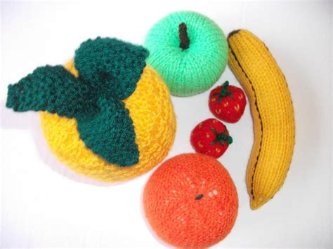 knitting pattern vegetables knitted food patterns for playtime more