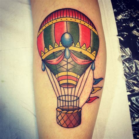 tatuajes de globos aerost 225 ticos para dejar volar tu