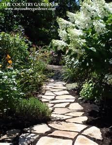 flagstone garden path our patios and walls pinterest