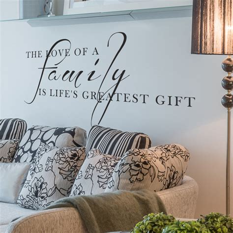 Is Living Room One Word by Family Gift Living Room Wall Decal Quote Words Lettering Decor Ebay
