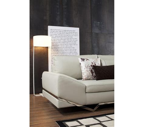 couch with speakers dreamfurniture com divani casa tune modern leather