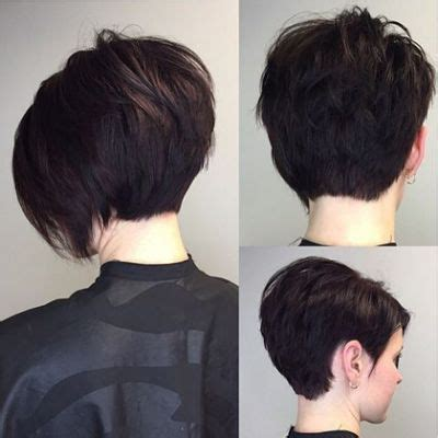 back short hair shots about short asymmetrical hairstyles back shot