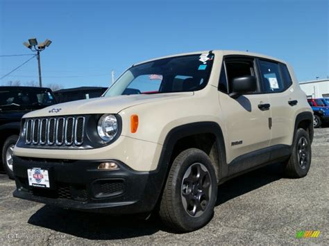2015 jeep colors 2015 mojave sand jeep renegade sport 4x4 103020735