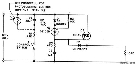 photoelectric sensor circuit diagram synchronous photoelectric switch switch control