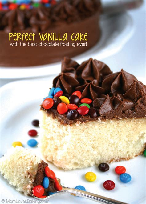 best chocolate frosting for cake vanilla cake with the best chocolate frosting