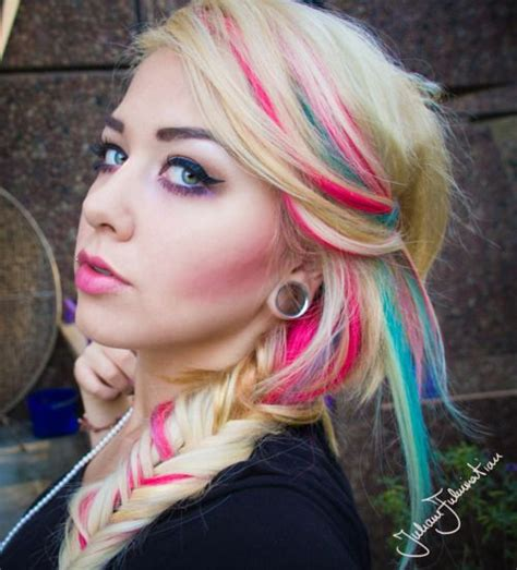 streaking my hair technique 17 best images about special colored hair on pinterest