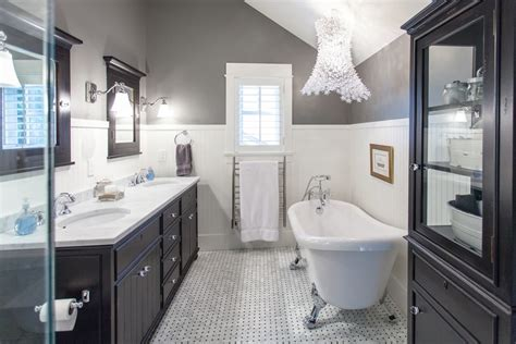 black white and bathroom decorating ideas glamorous black white bathroom in classic design 4996