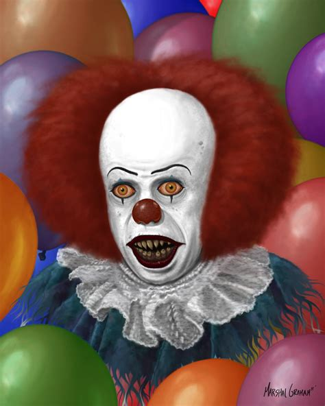 the clown image 631231 nightmare fuel your meme
