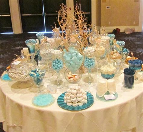 theme buffet names beach theme candy buffet candybar couture gallery