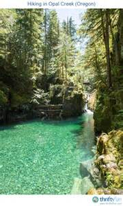 Opal Creek Oregon Map by Hiking Opal Creek Oregon Thriftyfun