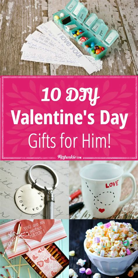 10 Adorable Valentines Day Gifts For by 10 Diy S Day Gifts For Him Tip Junkie