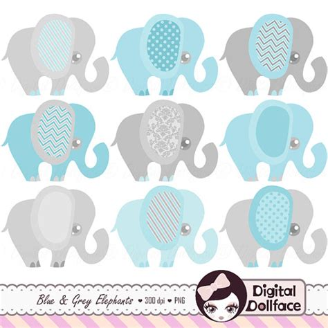 Blue Elephant Baby Shower by Blue Elephant Baby Shower Invitation Clipart Baby Boy Clip