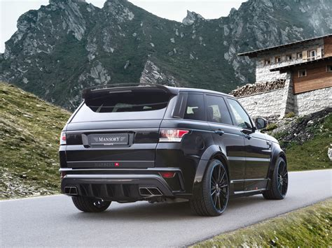 mansory range rover mansory releases package for range rover sport