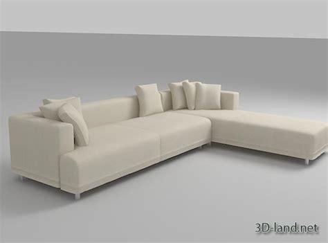 opium couch sofa opium 3d model 3d land net