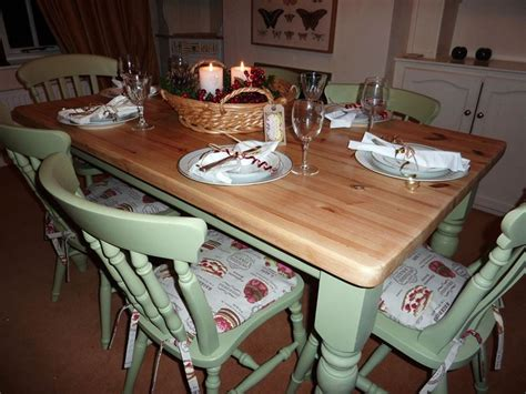 pine kitchen tables and chairs pine farmhouse kitchen table with 6 chairs painted vintage