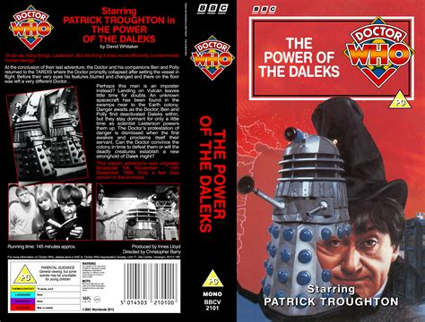 the power of the the power of the daleks vhs 1974 style