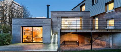 agrandissement maison nouvelle loi 3173 l extension bois contemporaine de morgane et s 233 bastien 224 brest