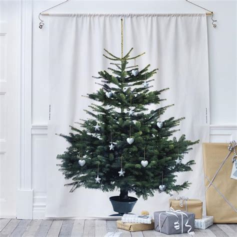 deco navidad la tela del 225 rbol de navidad de ikea paperblog