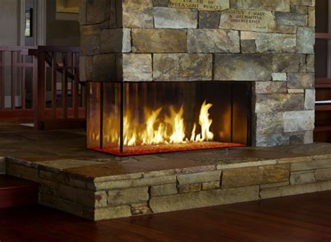 custom fireplace shop davinci custom linear pier fireplace the energy house