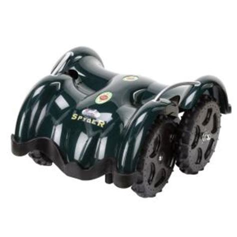 lawnbott 10 in battery powered electric robot lawn mower
