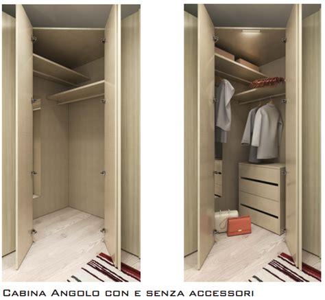armadio ad angolo con cabina armadio angolare con cabina a 6 ante battenti arredo